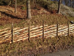 Slanor till staket