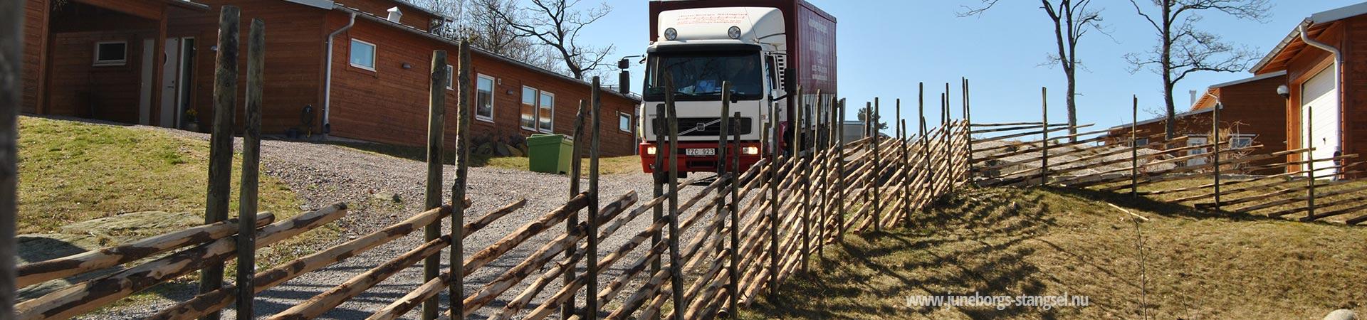 Staket stängsel staket : SmÃ¥landsstaket för alla miljöer